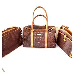 Lot of 3 Escada Paisley Bags